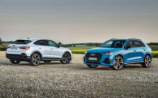 Audi introduce noile Q3 și Q3 Sportback plug-in hybrid: motorizare cu 245 CP și autonomie de până la 51 de kilometri