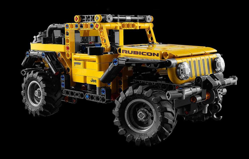 Jeep Wrangler Rubicon are și versiune din piese Lego: produsul va fi disponibil din 1 ianuarie și costă 50 de euro - Poza 3