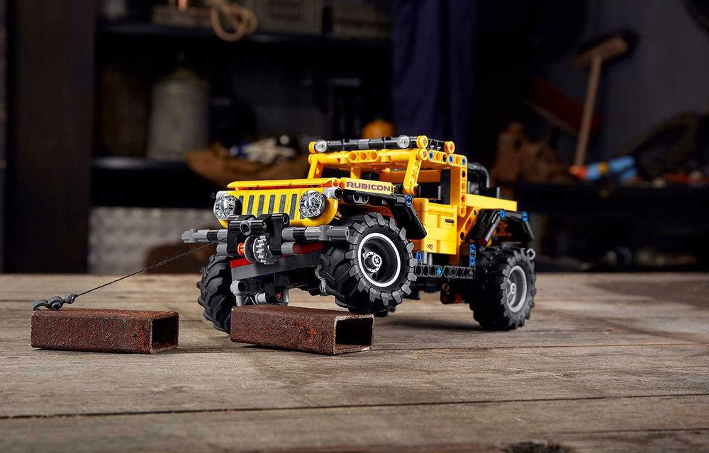 Jeep Wrangler Rubicon are și versiune din piese Lego: produsul va fi disponibil din 1 ianuarie și costă 50 de euro - Poza 1