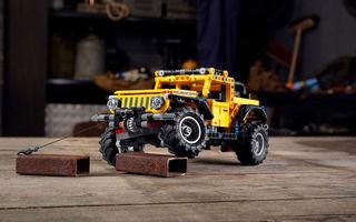 Jeep Wrangler Rubicon are și versiune din piese Lego: produsul va fi disponibil din 1 ianuarie și costă 50 de euro
