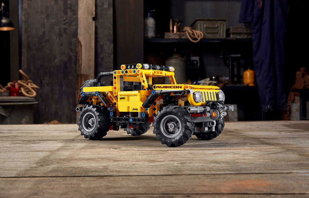 Jeep Wrangler Rubicon are și versiune din piese Lego: produsul va fi disponibil din 1 ianuarie și costă 50 de euro - Poza 2
