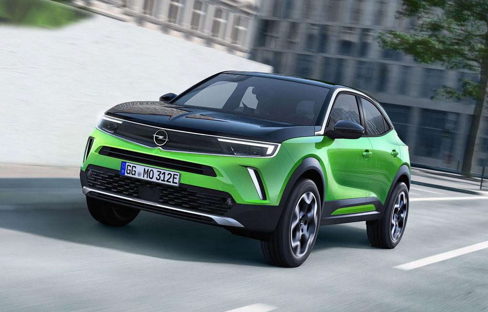 Cerere peste așteptări pentru SUV-ul electric Opel Mokka-e: aproape toate unitățile care vor fi produse până în septembrie au fost deja vândute - Poza 1