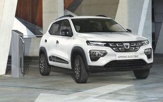 Prima comandă de flotă pentru Dacia Spring: o companie de închirieri auto din Franța va utiliza 3.000 de unități ale modelului electric