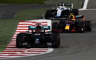 Russell debutează cu stil la Mercedes: britanicul a fost cel mai rapid în ambele sesiuni de antrenamente din Bahrain