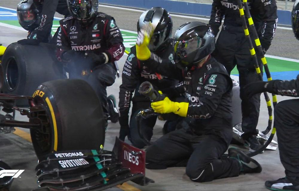 Perez a obținut în Bahrain prima victorie din carieră! Russell a ratat victoria după o greșeală la boxe a echipei și o pană în finalul cursei - Poza 6