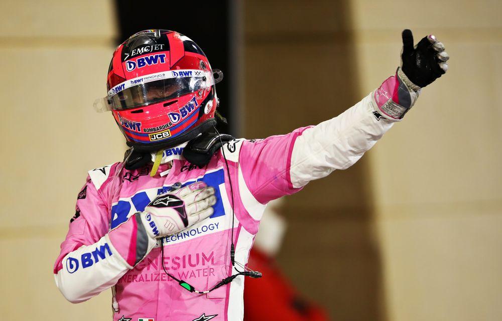 Perez a obținut în Bahrain prima victorie din carieră! Russell a ratat victoria după o greșeală la boxe a echipei și o pană în finalul cursei - Poza 5