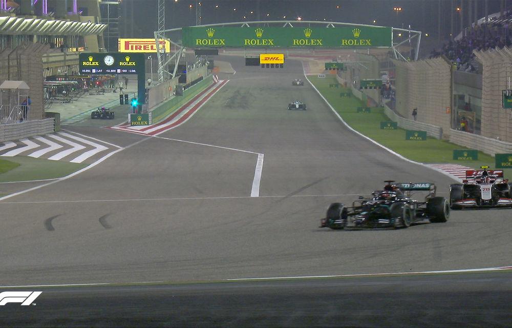 Perez a obținut în Bahrain prima victorie din carieră! Russell a ratat victoria după o greșeală la boxe a echipei și o pană în finalul cursei - Poza 4