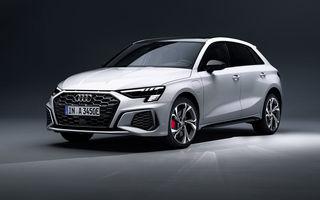 O nouă versiune plug-in hybrid pentru Audi A3 Sportback: 245 de cai putere și autonomie electrică de până la 63 de kilometri