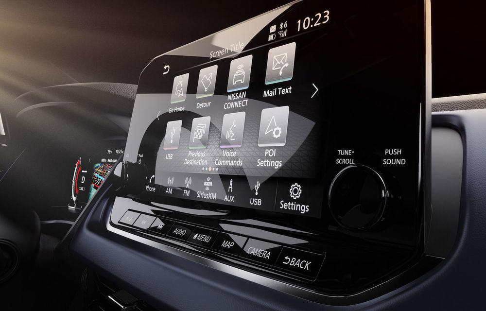 Primele imagini cu interiorul noii generații Nissan Qashqai: instrumentar digital de bord de 12.3 inch și sistem de infotainment de 9 inch - Poza 3