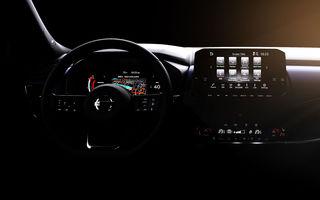 Primele imagini cu interiorul noii generații Nissan Qashqai: instrumentar digital de bord de 12.3 inch și sistem de infotainment de 9 inch