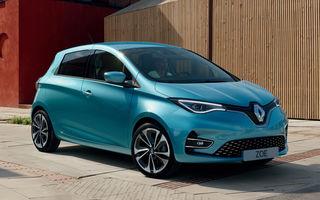 Renault conduce topul vânzărilor europene de mașini electrice: peste 95.000 de unități în perioada ianuarie-noiembrie 2020