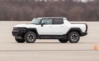 General Motors începe testele de iarnă cu Hummer EV: pick-up-ul electric de 1000 de cai putere va fi disponibil în 2021