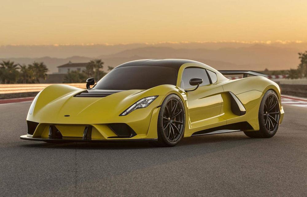 Hennessey anunță că producția lui Venom F5 va debuta în 15 decembrie: hypercar-ul dezvoltă peste 1.840 de cai putere - Poza 1