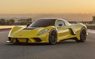 Hennessey anunță că producția lui Venom F5 va debuta în 15 decembrie: hypercar-ul dezvoltă peste 1.840 de cai putere