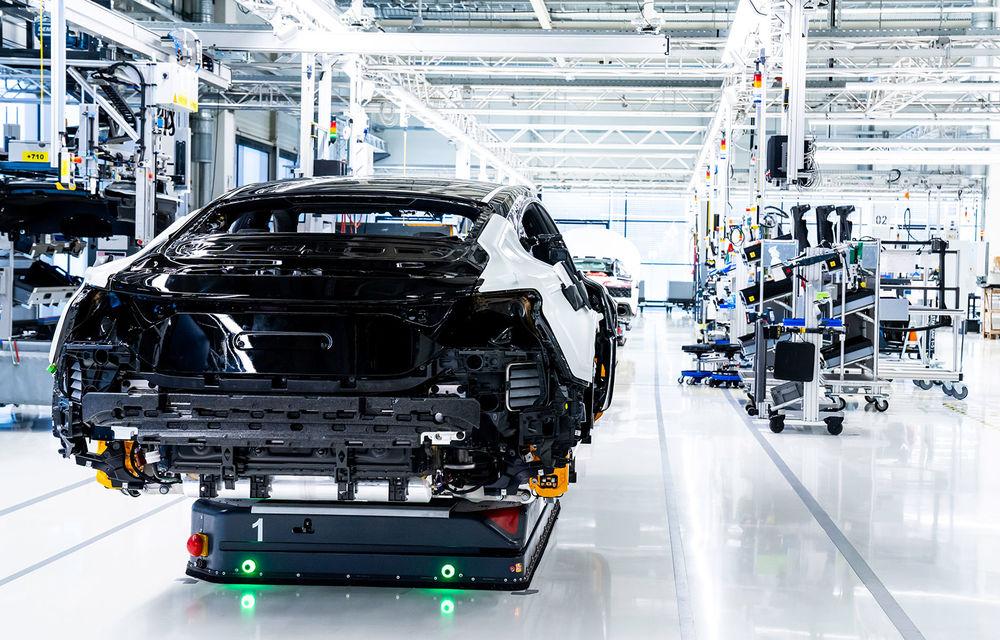 Audi a demarat producția modelului electric e-tron GT: listele de comenzi vor fi deschise în primăvara anului viitor - Poza 2