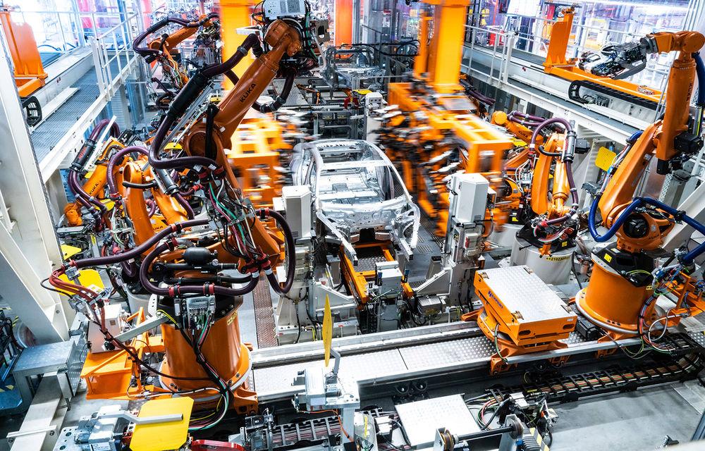 Audi a demarat producția modelului electric e-tron GT: listele de comenzi vor fi deschise în primăvara anului viitor - Poza 1