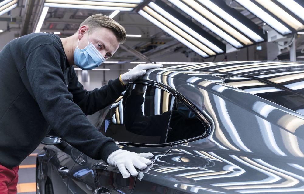 Audi a demarat producția modelului electric e-tron GT: listele de comenzi vor fi deschise în primăvara anului viitor - Poza 8