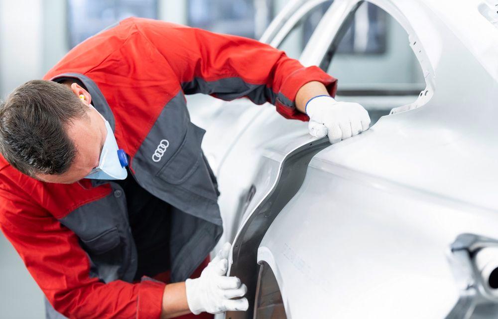 Audi a demarat producția modelului electric e-tron GT: listele de comenzi vor fi deschise în primăvara anului viitor - Poza 5