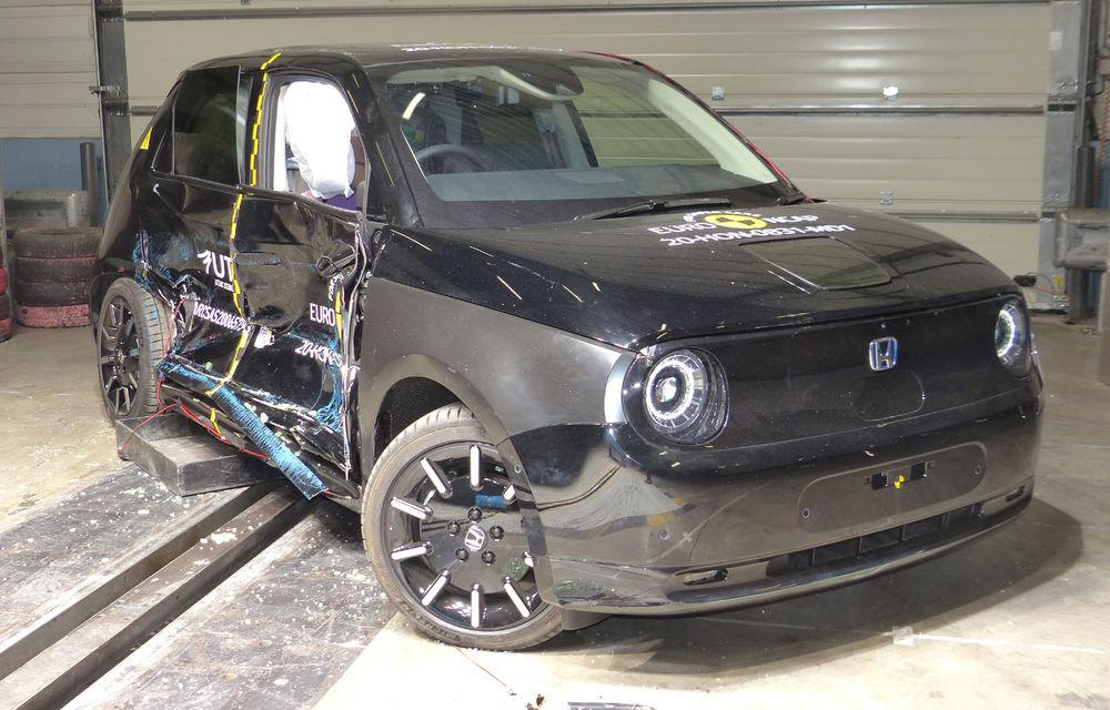 Teste Euro NCAP: Patru stele pentru Honda e, cinci stele pentru Audi A3, Seat Leon, Land Rover Defender și Kia Sorento - Poza 1