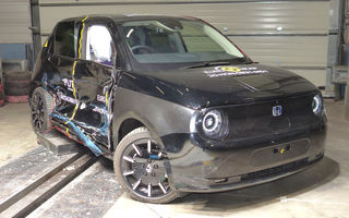 Teste Euro NCAP: Patru stele pentru Honda e, cinci stele pentru Audi A3, Seat Leon, Land Rover Defender și Kia Sorento