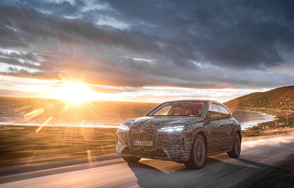 Anduranță cu prototipul viitorului SUV electric BMW iX: nemții au demarat sesiunile de teste în zona de nord a Europei - Poza 12