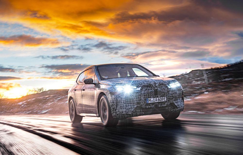 Anduranță cu prototipul viitorului SUV electric BMW iX: nemții au demarat sesiunile de teste în zona de nord a Europei - Poza 3