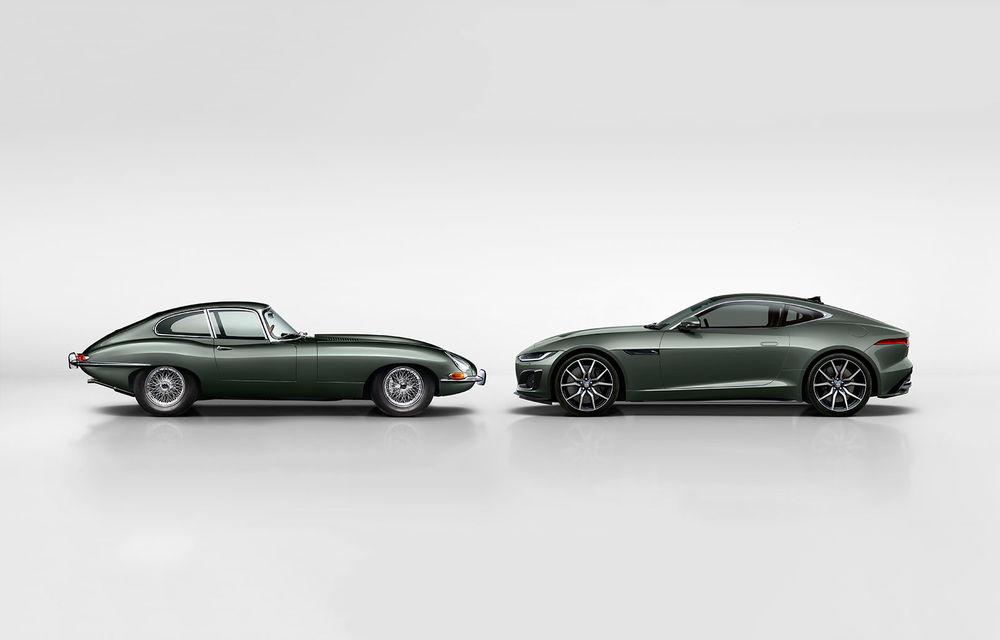 60 de ani de Jaguar E-Type: britanicii sărbătoresc momentul cu versiunea aniversară F-Type Heritage 60 Edition - Poza 1