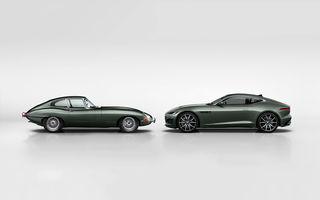 60 de ani de Jaguar E-Type: britanicii sărbătoresc momentul cu versiunea aniversară F-Type Heritage 60 Edition