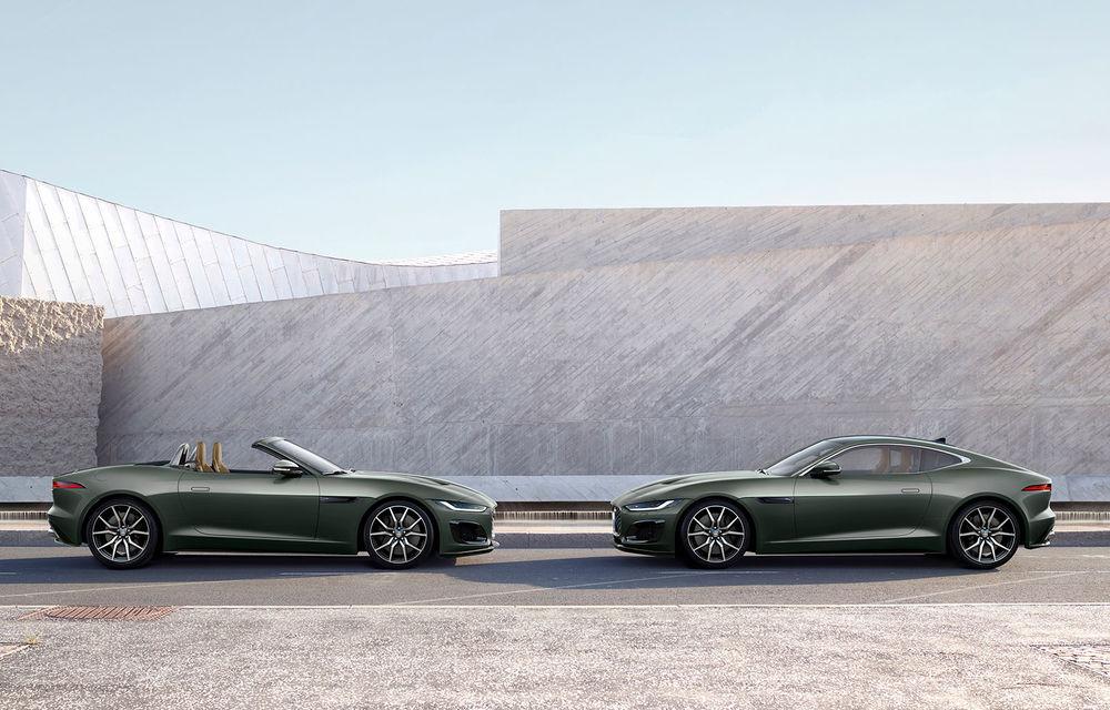 60 de ani de Jaguar E-Type: britanicii sărbătoresc momentul cu versiunea aniversară F-Type Heritage 60 Edition - Poza 4