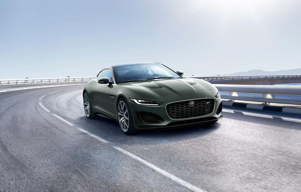 60 de ani de Jaguar E-Type: britanicii sărbătoresc momentul cu versiunea aniversară F-Type Heritage 60 Edition - Poza 3