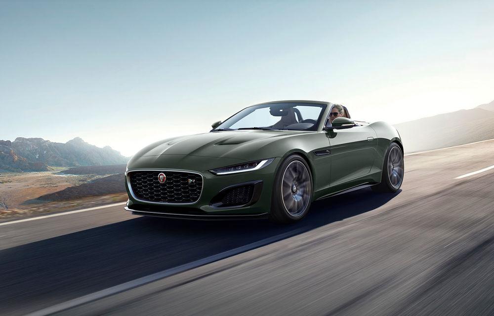 60 de ani de Jaguar E-Type: britanicii sărbătoresc momentul cu versiunea aniversară F-Type Heritage 60 Edition - Poza 2