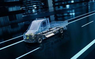 Mercedes-Benz anunță o platformă dedicată utilitarelor electrice: arhitectura va debuta pe viitoarea generație eSprinter