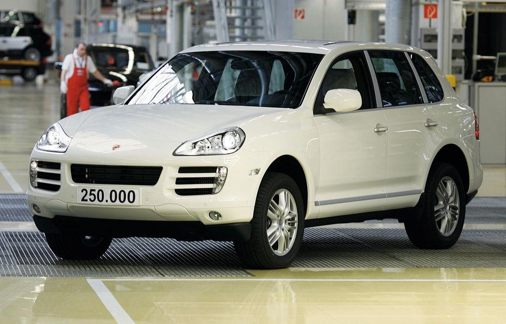 Moment special în gama Porsche: SUV-ul Cayenne ajunge la borna un milion - Poza 4