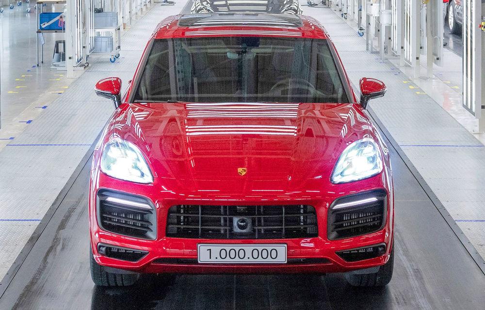 Moment special în gama Porsche: SUV-ul Cayenne ajunge la borna un milion - Poza 1