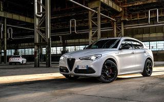 Îmbunătățiri în gama Alfa Romeo Stelvio: motorizări Euro 6d și versiune Veloce Ti