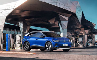 Volkswagen ID.4 va primi o versiune sport: modelul va avea două motoare electrice și va fi prezentat în primăvara anului viitor
