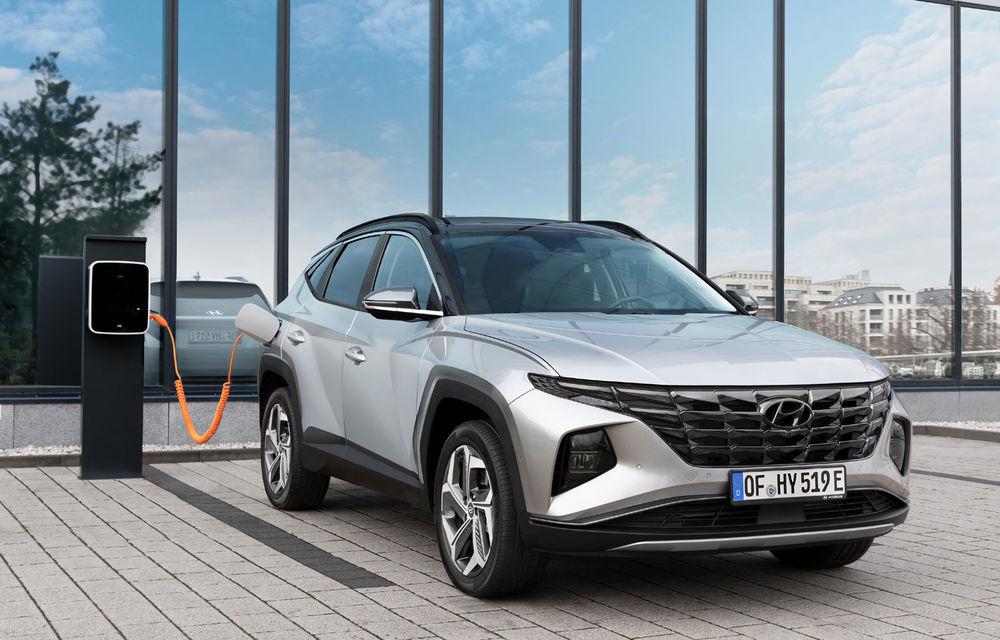 Noi detalii despre versiunea plug-in hybrid a lui Hyundai Tucson: SUV-ul va avea tracțiune integrală și autonomie electrică de 50 de kilometri - Poza 1