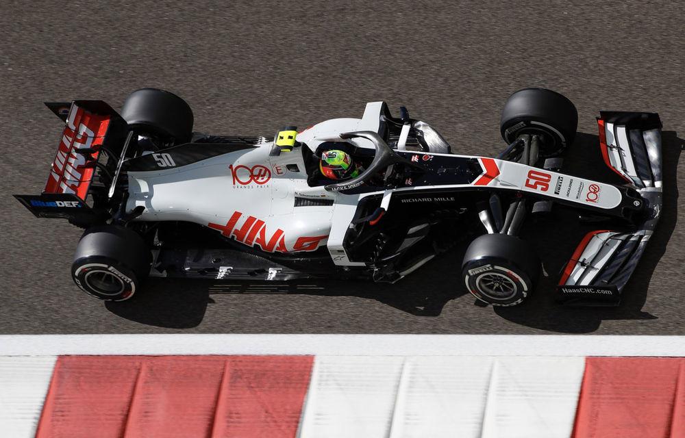 Mick Schumacher a debutat în Formula 1: fiul lui Michael Schumacher a concurat în antrenamentele din Abu Dhabi - Poza 1