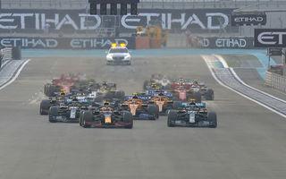 Verstappen încheie sezonul 2020 al Formulei 1 cu o victorie în Abu Dhabi: Bottas și Hamilton au completat podiumul