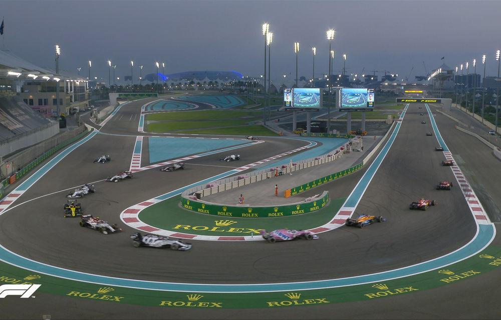 Verstappen încheie sezonul 2020 al Formulei 1 cu o victorie în Abu Dhabi: Bottas și Hamilton au completat podiumul - Poza 4