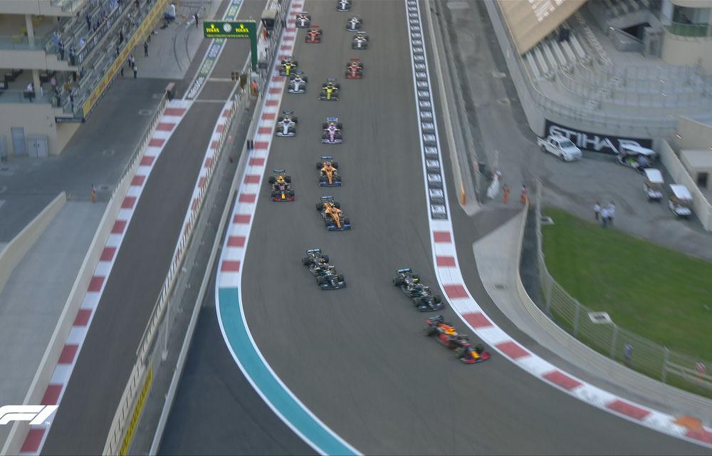 Verstappen încheie sezonul 2020 al Formulei 1 cu o victorie în Abu Dhabi: Bottas și Hamilton au completat podiumul - Poza 2