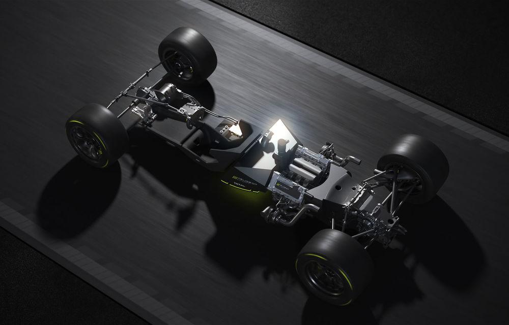 Detalii despre hypercar-ul Peugeot pentru Le Mans: plug-in hybrid cu motor pe benzină V6 de 2.6 litri și 680 CP plus un motor electric de 272 CP - Poza 2