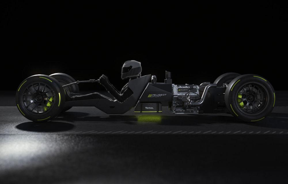 Detalii despre hypercar-ul Peugeot pentru Le Mans: plug-in hybrid cu motor pe benzină V6 de 2.6 litri și 680 CP plus un motor electric de 272 CP - Poza 4