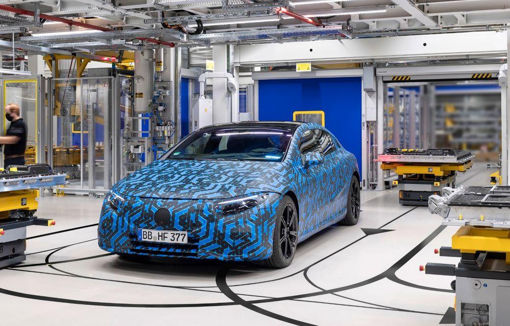Premierele Mercedes-Benz în gama de electrice EQ pentru următorul an: nemții vor lansa SUV-urile EQA și EQB, și sedanurile EQE și EQS - Poza 17