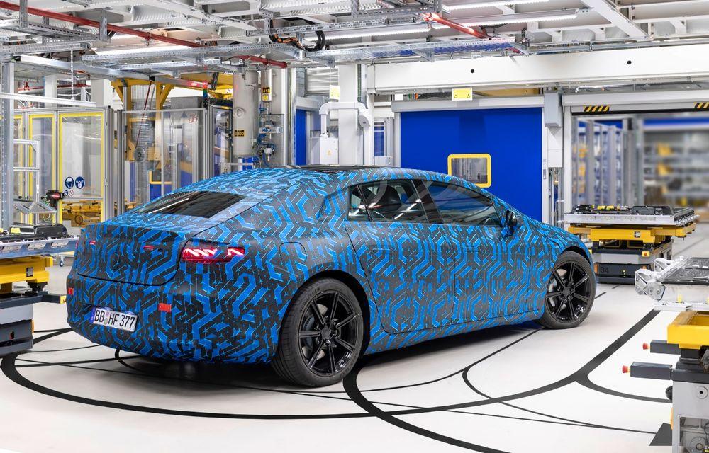 Premierele Mercedes-Benz în gama de electrice EQ pentru următorul an: nemții vor lansa SUV-urile EQA și EQB, și sedanurile EQE și EQS - Poza 16