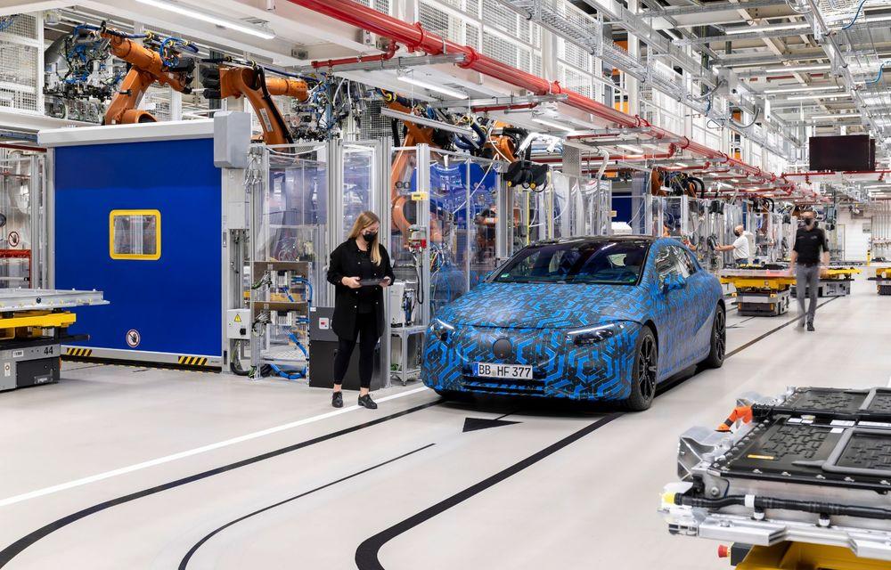 Premierele Mercedes-Benz în gama de electrice EQ pentru următorul an: nemții vor lansa SUV-urile EQA și EQB, și sedanurile EQE și EQS - Poza 14
