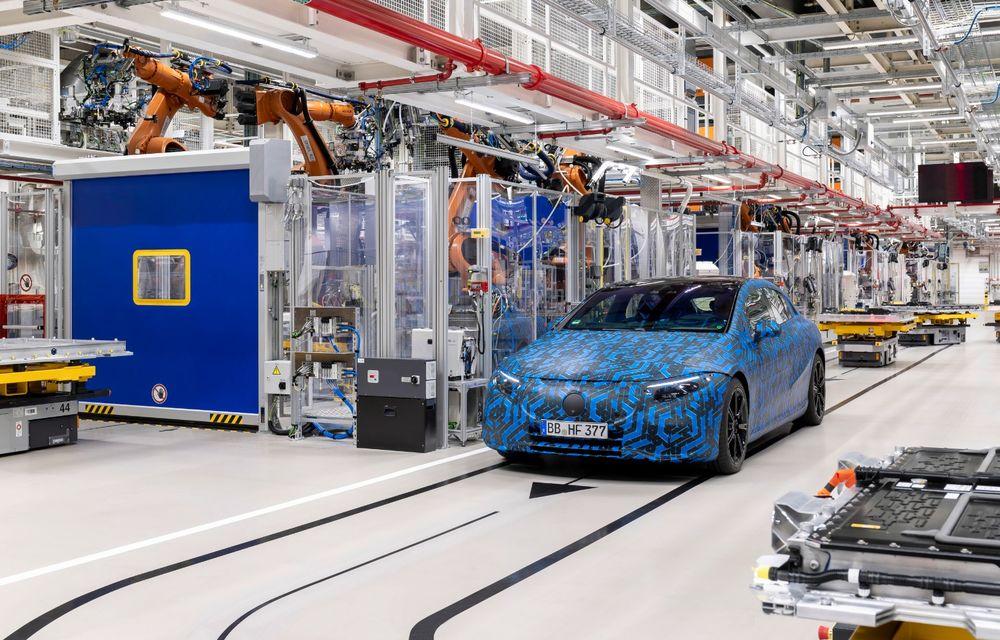 Premierele Mercedes-Benz în gama de electrice EQ pentru următorul an: nemții vor lansa SUV-urile EQA și EQB, și sedanurile EQE și EQS - Poza 15