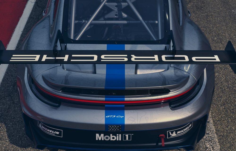 Porsche a prezentat noul 911 GT3 Cup: modelul de competiții oferă aproximativ 510 CP și 470 Nm - Poza 10