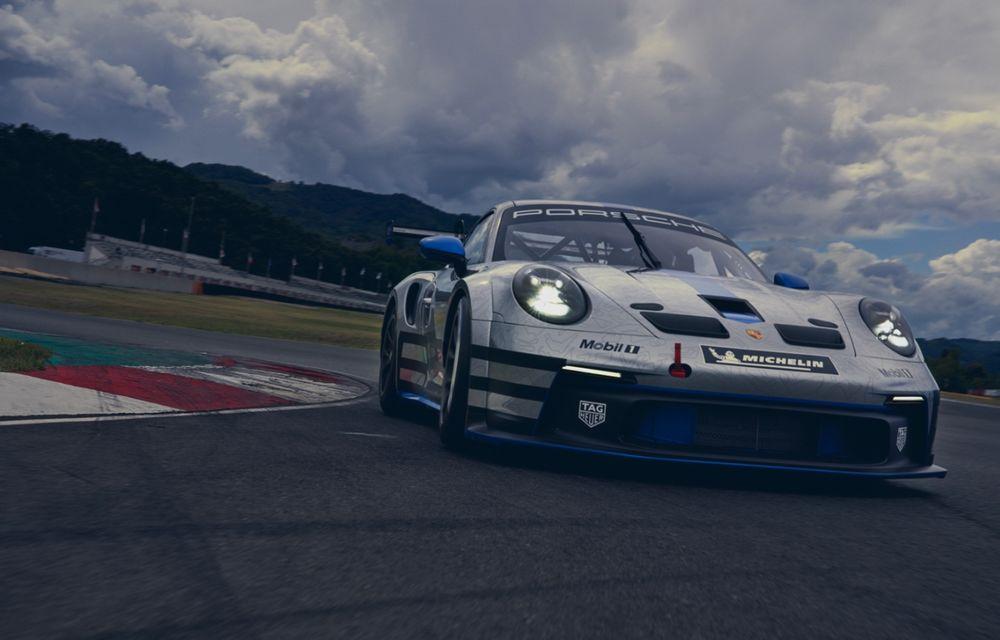 Porsche a prezentat noul 911 GT3 Cup: modelul de competiții oferă aproximativ 510 CP și 470 Nm - Poza 3
