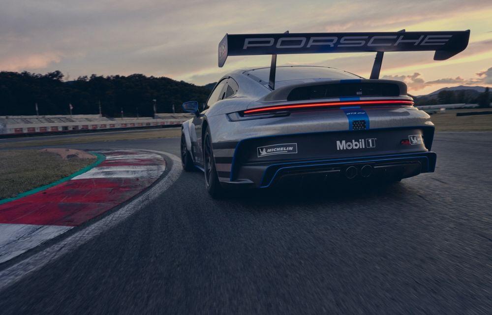 Porsche a prezentat noul 911 GT3 Cup: modelul de competiții oferă aproximativ 510 CP și 470 Nm - Poza 5